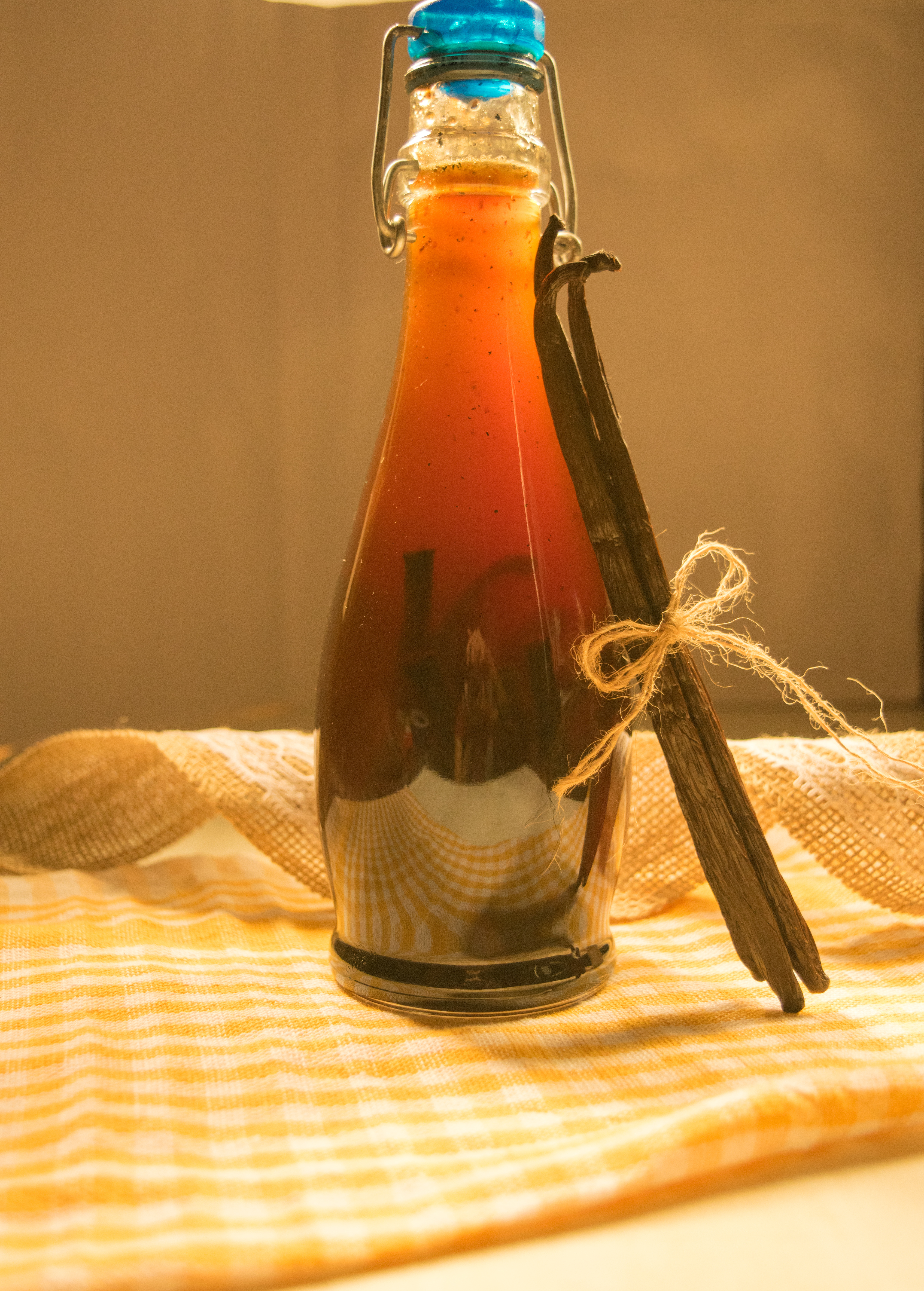 homemade vanilla extract Recipe without alcohol