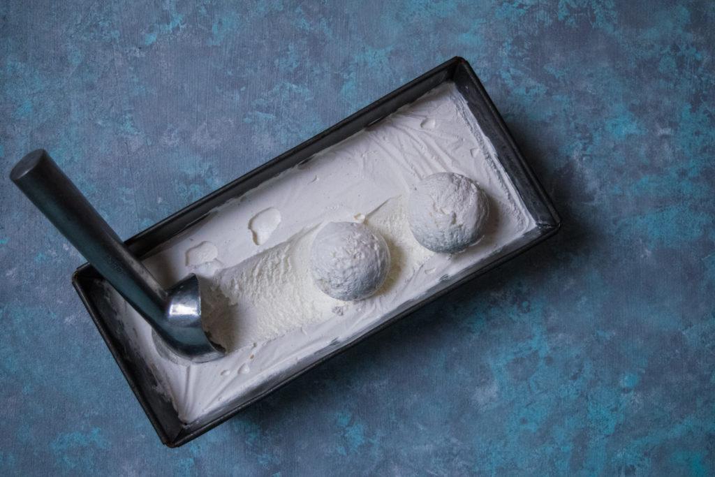 easy 3 ingredient vanilla ice cream