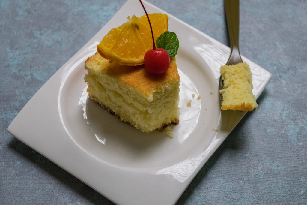 easiest orange chiffon cake recipe
