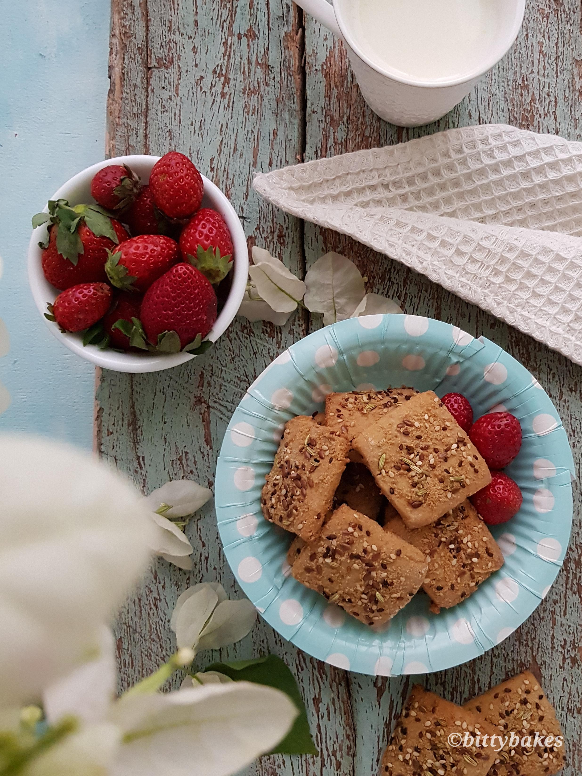 Healthy Millet Seed Cookies