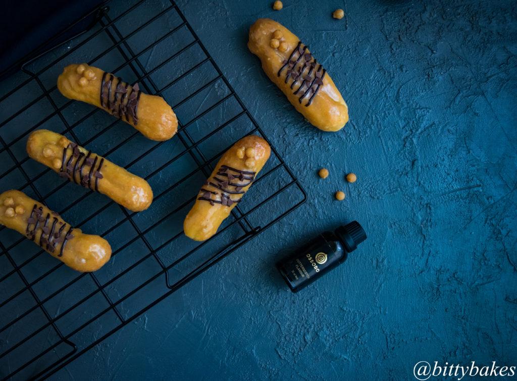 butterscotch eclair recipe