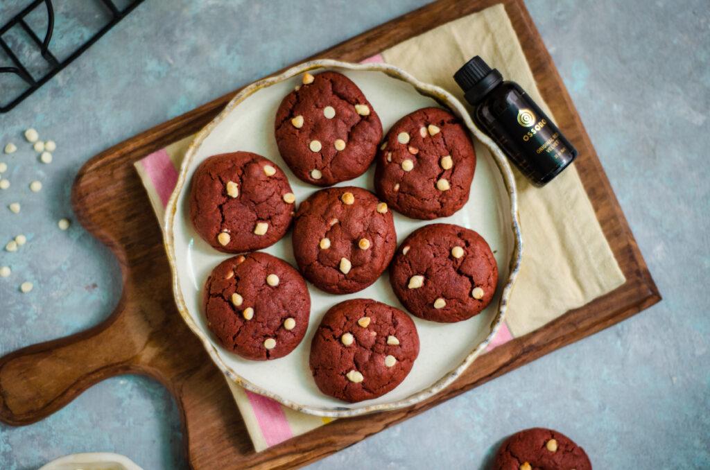 Best ever red velvet cookies