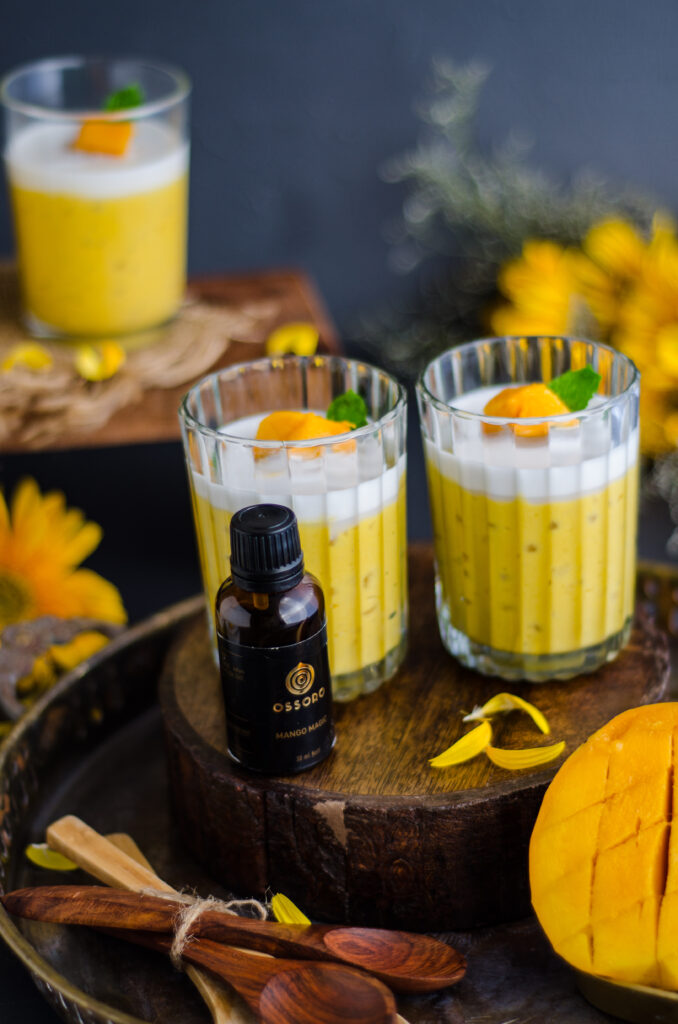 easy mango sago pudding
