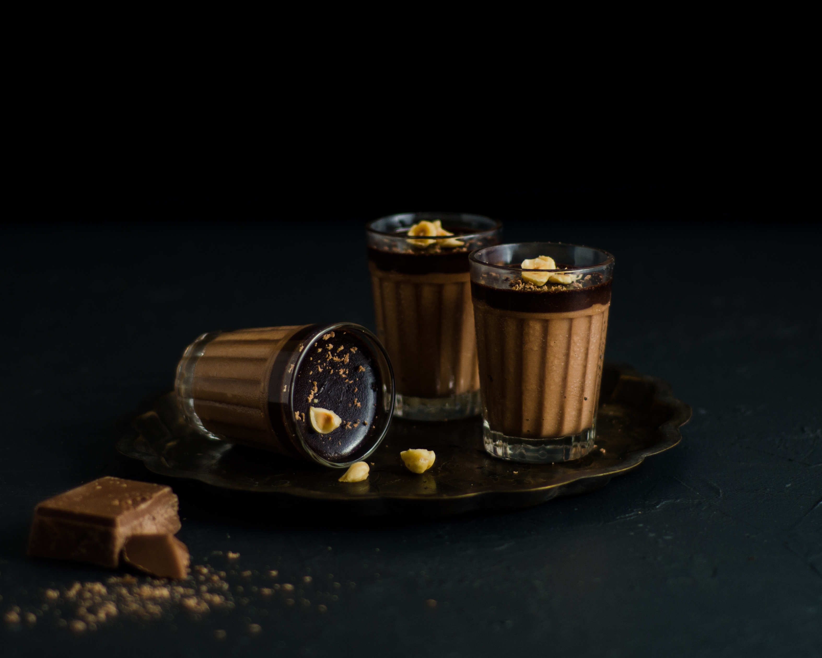 hazelnut chocolate mousse-1180