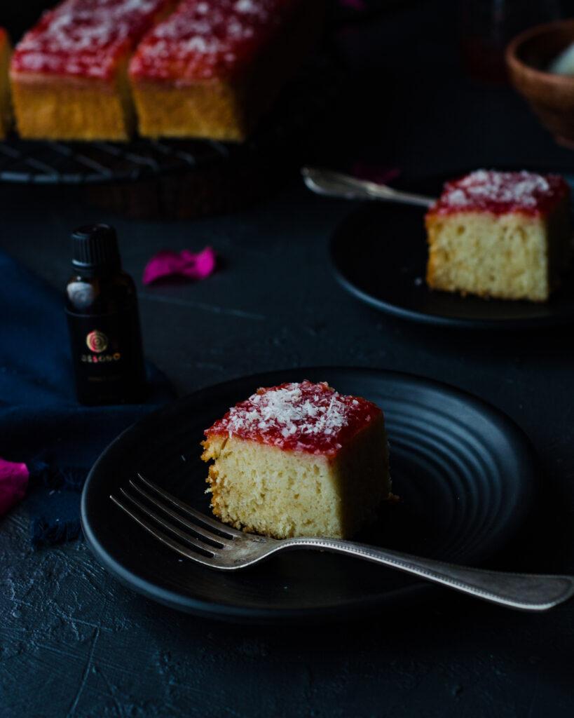 indian bakery style honey cake